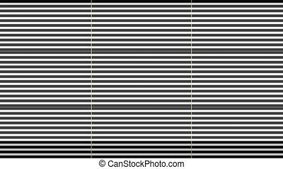 zoom, blanc, infini, raies, noir