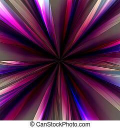 Zoom burst background