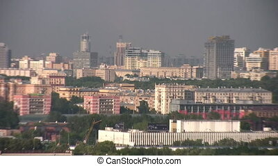 zoom city Moscow - Zoom of Moscow city