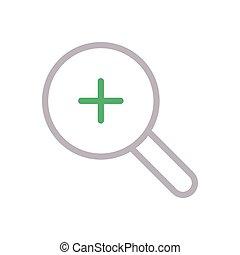 zoom color line icon