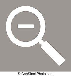 Zoom flat icon