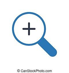 zoom glyph color icon