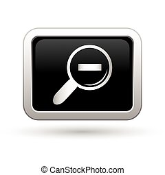 Zoom icon. Vector illustration