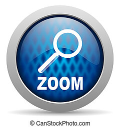 zoom, ikon