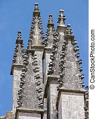 Pinnacles - Zoom in image of Pinnacles from Monestary in ...