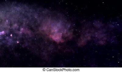 Zoom into the galaxy