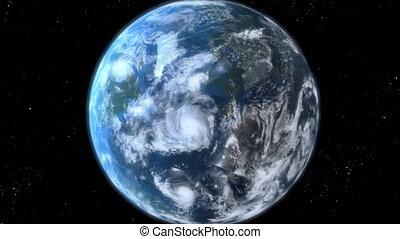 zoom, la terre