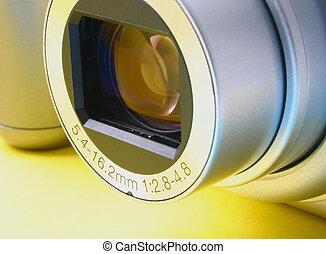 zoom lens details, no trademarks