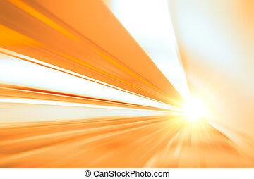 Zoom move fast high speed business abstract for background