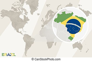 Braslia vector clip art royalty free 10 braslia clipart vector zoom on brazil map and flag world map gumiabroncs Image collections