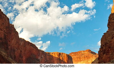Zoom-out of Grand Canyon - A zoom-out view of the Grand...
