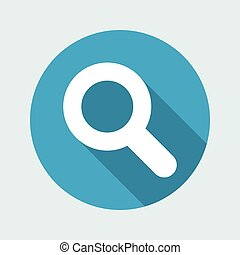 Zoom - Vector flat minimal icon