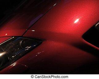 zoom zoom - Detail from Mazda sportscar