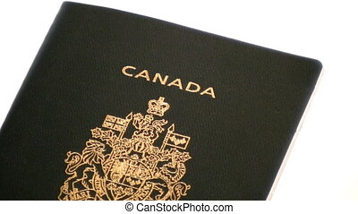 Zooming out on an isolated Canadian passport - Zooming out...