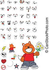 zorro, cartoon11, niño