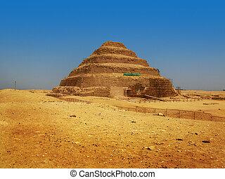 zoser), ピラミッド, 作られた, 世紀, エジプト, (26, ファラオ, djoser, 有名, ステップ...