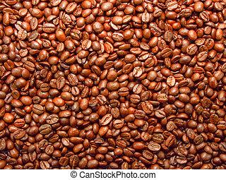 zrnková káva, grafické pozadí
