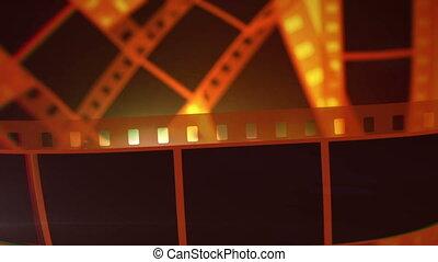"""zrobienie, """"movie, rolls"""", film, taśma"""
