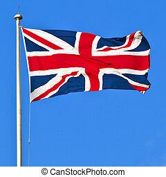 zrzeszeniowa bandera, od, wielka brytania