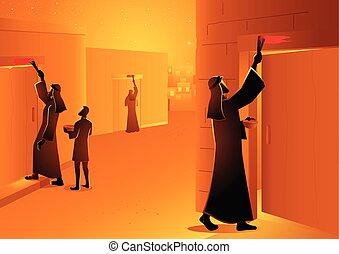 zsidó húsvét, áldozat