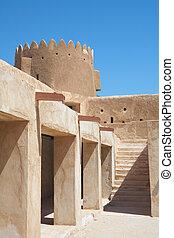 zubara, 城砦