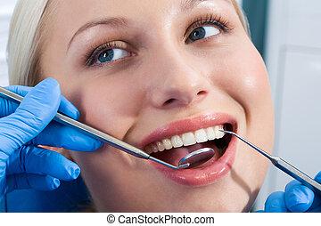 zubní, kontrola
