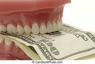 zubní, výlohy