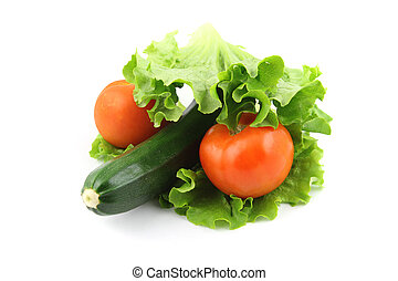 zucchini, och, tomat