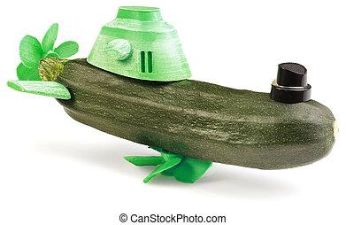 zucchini, undervattensbåt
