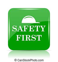 zuerst, sicherheit, ikone