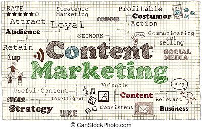 zufriedene , marketing, abbildung
