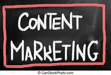 zufriedene , marketing, begriff