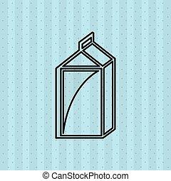 zuivelbedrijf product, ontwerp
