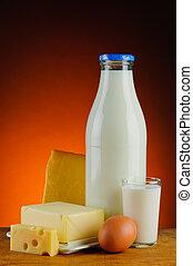 zuivelproducten, melk