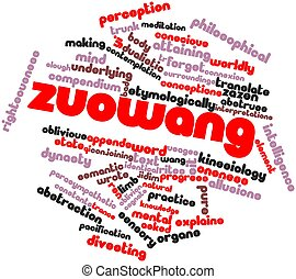 Zuowang - Abstract word cloud for Zuowang with related tags...