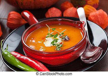 zupa, dynia
