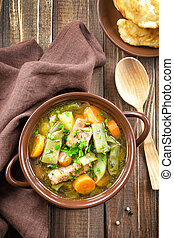 zupa, fasola