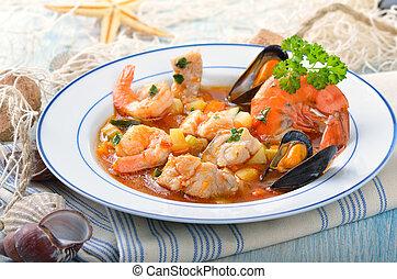 zupa, fish, zachwycający