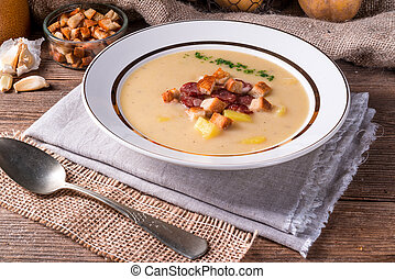 zupa, kartofel