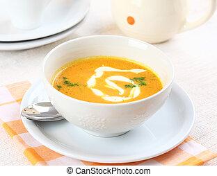 zupa, marchew