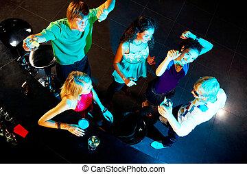 zusammen, tanzen