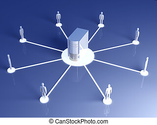 zusammenarbeit, vernetzung