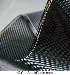 zusammengesetzt, kohlenstoff, material, faser