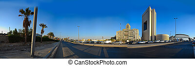 zvyk, v, obchodní, centrum, o, jeddah
