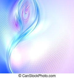 zwaaiende , abstract, achtergrond