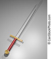 zwaard, oorlog