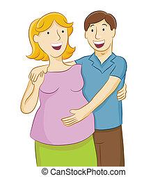 zwangere , vrouw