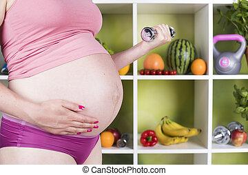zwangerschap, vitamine, voeding