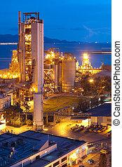 zware, industry., industrie, cement, bouwsector, plant,...