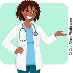 zwart wijfje, arts